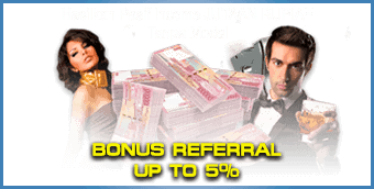 Bonus Referral up to 5%